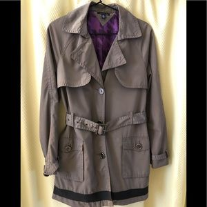Tommy Hilfiger Double-Breasted Trench Coat
